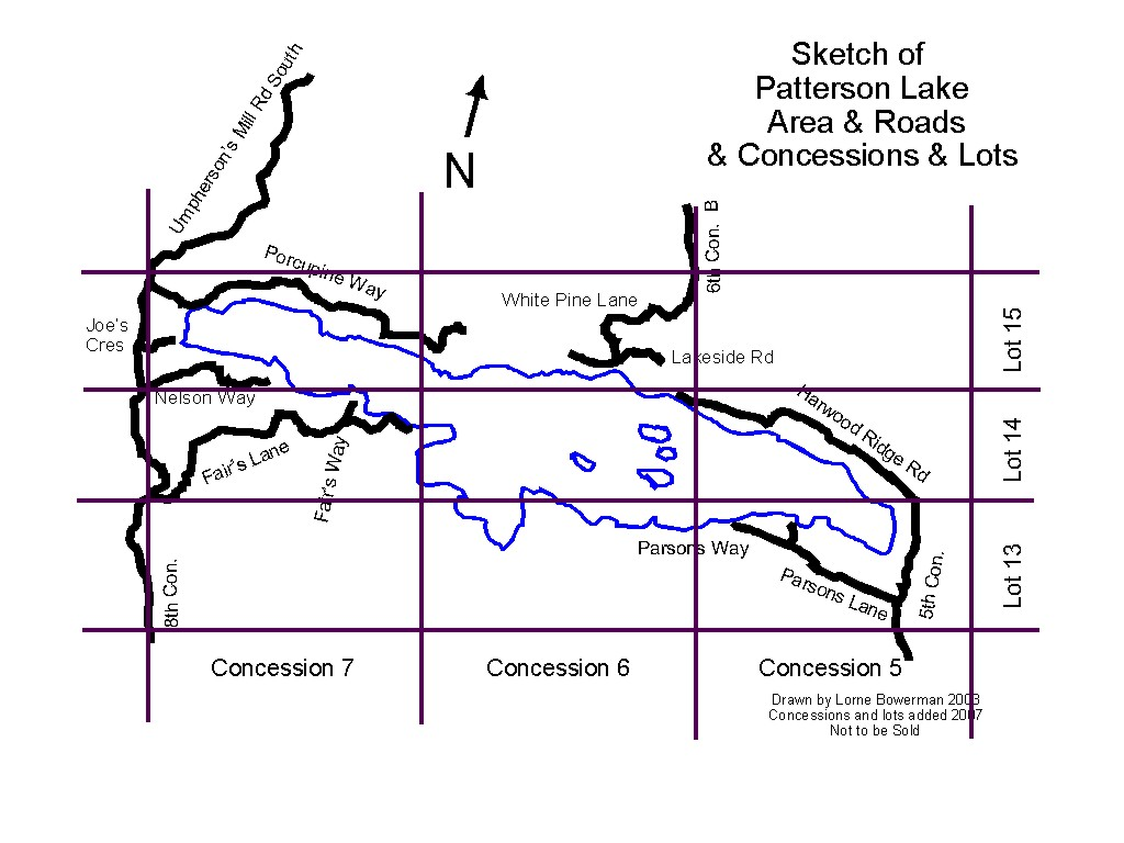 lake roads and concessions